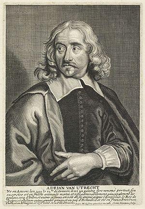 Adriaen van Utrecht - Portrait of Adriaen van Utrecht