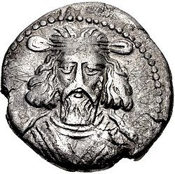 Coin of Artabanus II, minted at Seleucia in 27 AD.jpg