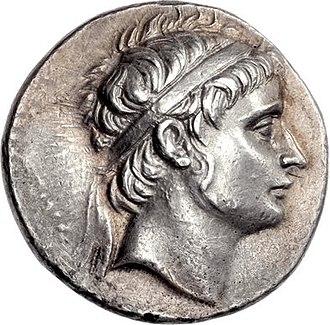 Seleucus II Callinicus - Image: Coin of Seleucus II Callinicus (cropped), Antioch mint