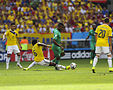 Colombia and Ivory Coast match at the FIFA World Cup 2014-06-19 (16).jpg