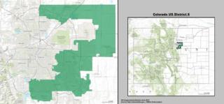 Colorados 6th congressional district U.S. House district for Colorado