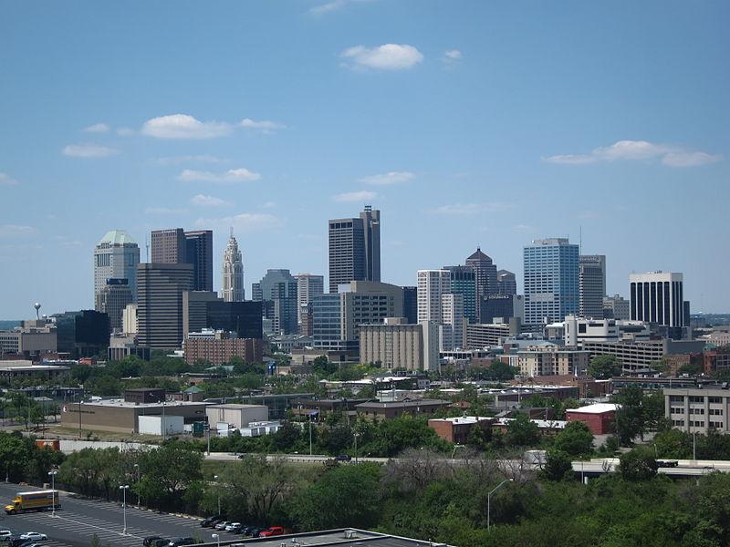 Columbus Skyline as seen from Children%27s Hospital.JPG