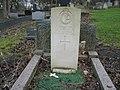 Commonwealth War Grave in Jarrow Cemetery (WW2-14) - geograph.org.uk - 1604807.jpg