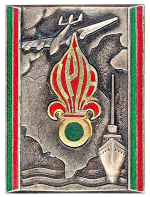 Passage Company of the Foreign Legion (CPLE) - Passage Company of the Far East Insignia