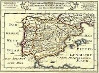 Historia De La Organizacion Territorial De Espana Wikipedia La