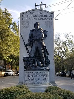Wilmington, North Carolina in the American Civil War - Confederate Monument in Wilmington