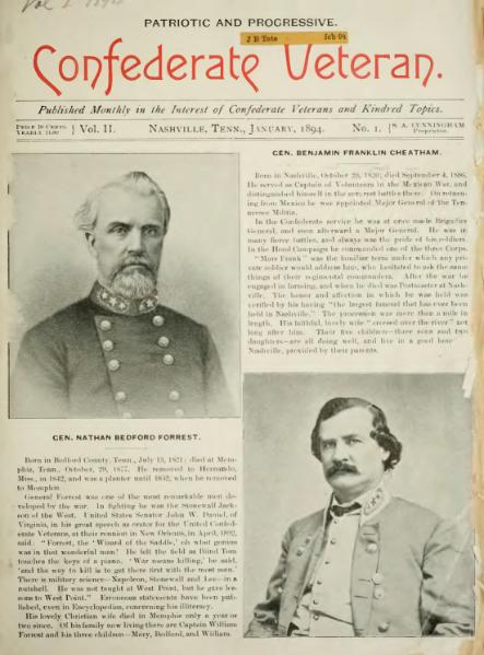 File:Confederate Veteran volume 02.djvu