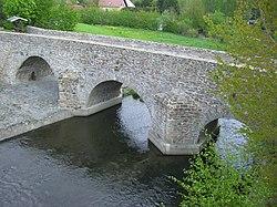 Conradsdorf, alte Muldenbrücke, 1501 erbaut.jpg