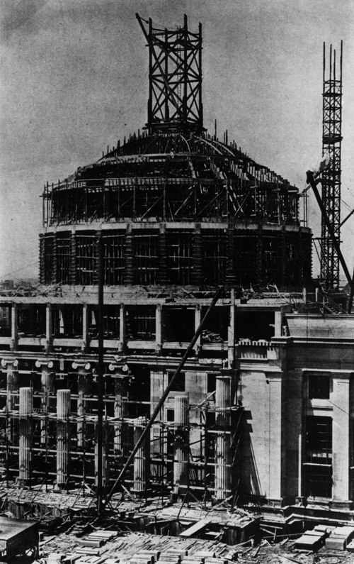 Construction great dome