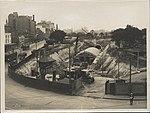 Construction of train tunnel Hyde Park, 1923 (8283771070).jpg