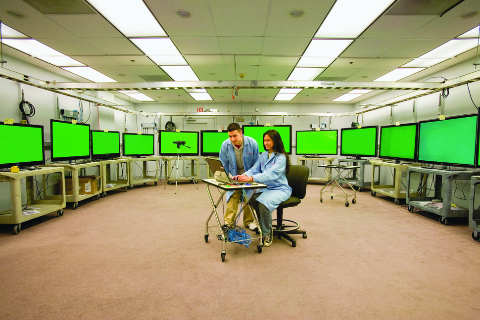 Consumer Reports - product testing - television testing laboratory