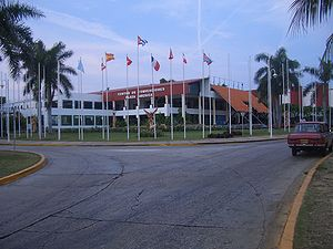 Convention center in Varadero, Cuba