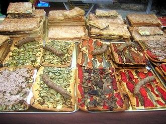 Coca (pastry) - Image: Coques