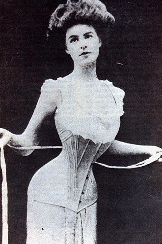 Compression (physics) - Tightening a corset applies biaxial compression to the waist.