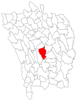 Location of Costeşti