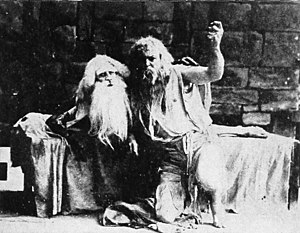 The Count of Monte Cristo - Hobart Bosworth (right) in The Count of Monte Cristo (1908)