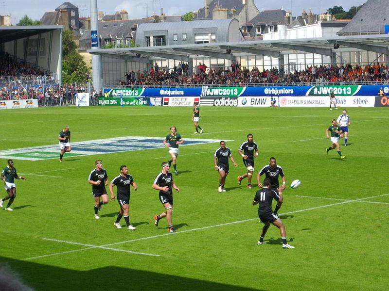 File coupe du monde junior de rugby xv 2013 3e place 7 jpg wikimedia commons - Place de rugby coupe du monde ...