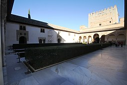 Courtyard of Myrtles - Alhambra (7).JPG