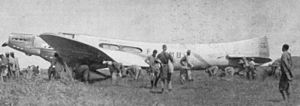 "Jean Mermoz - The Couzinet 70, ""Arc-en-Ciel"", F-AMBV, flown by Mermoz"