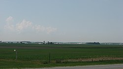 The Cranberry Prairie, a wide field in the township