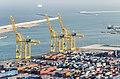 Cranes in Port de Creuers (2014) - panoramio.jpg