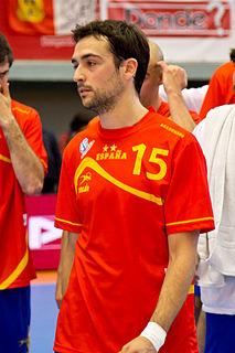 Spanish handball player