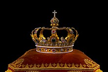 La corona de los Reyes de Baviera