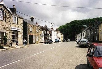 Tregony - Main street in Tregony