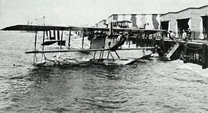 Curtiss Model N - A Curtiss N-9 at Naval Air Station Pensacola