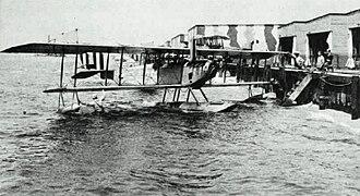 Curtiss Model N - A Curtiss N-9 at Naval Air Station Pensacola