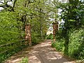 Cycle track - footpath to Otterton - geograph.org.uk - 1288374.jpg