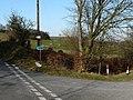 Cyffordd Ffordd ger Bethania - Road junction near Bethania - geograph.org.uk - 694899.jpg
