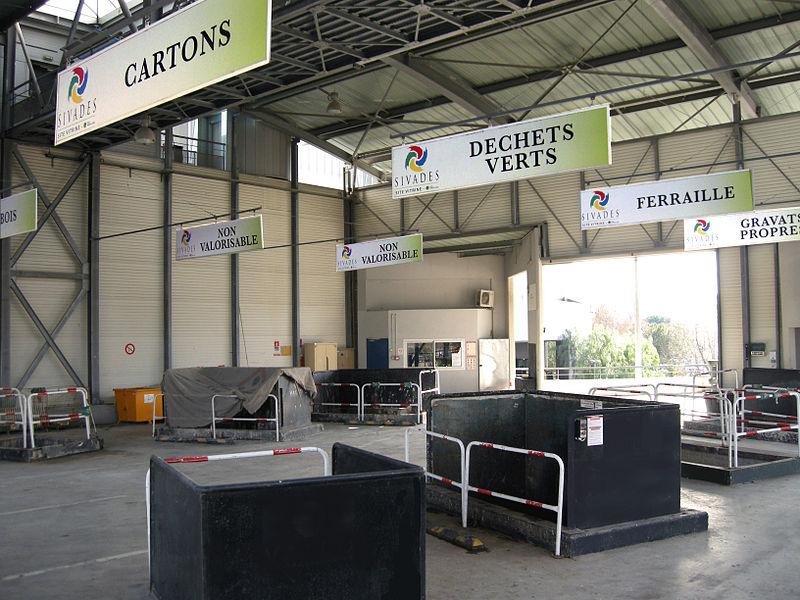 Déchetterie - Cannes - France - Déchets - Stockage - SchoolMouv - Géographie - CM2