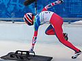 Départ de skeleton Amy Williams.jpg