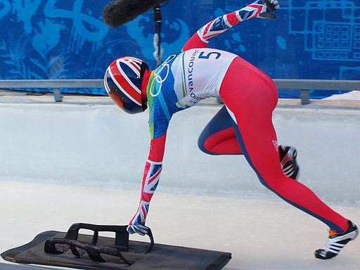 Départ de skeleton Amy Williams