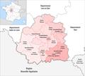 Département Indre Arrondissement Kantone 2019.png