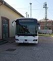 DDKK Credo Econell busz és a 2-es posta, 2018 Dombóvár.jpg