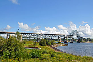 Centennial (Miramichi) Bridge bei Newcastle
