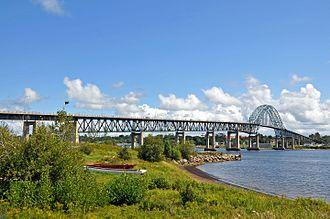Chatham, New Brunswick - Centennial (Miramichi) Bridge