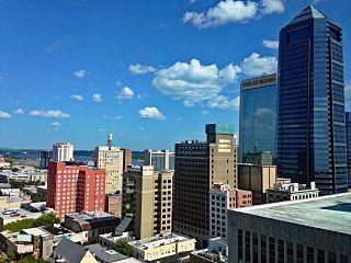 A neighborhood of Jacksonville, Florida