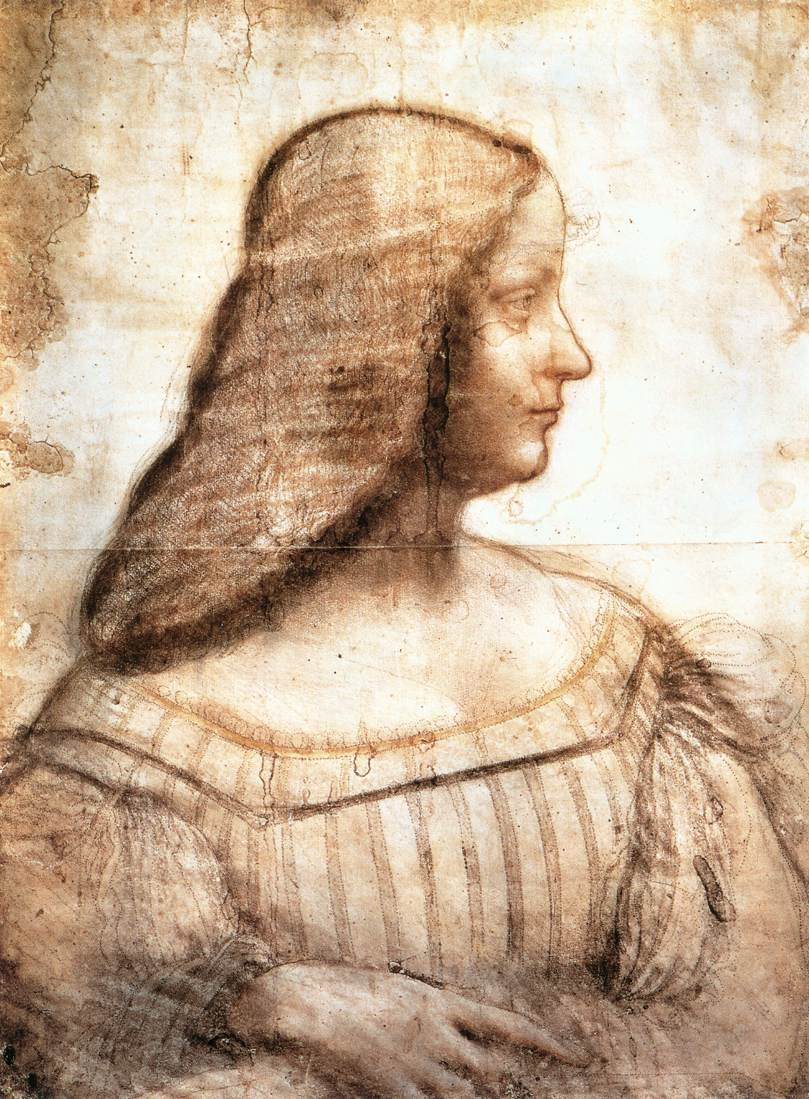 Da Vinci Isabella d%27Este