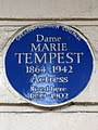 Dame MARIE TEMPEST 1864-1942 Actress lived here 1899-1902.jpg