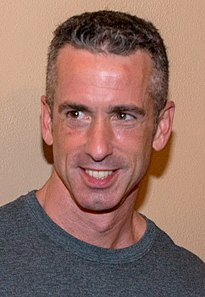 Dan Savage American sex advice columnist and gay rights campaigner