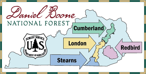 Daniel Boone National Forest Ranger Districts.png