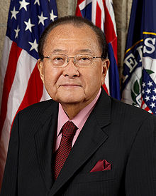 Portrait officiel de Daniel Inouye, 2008.