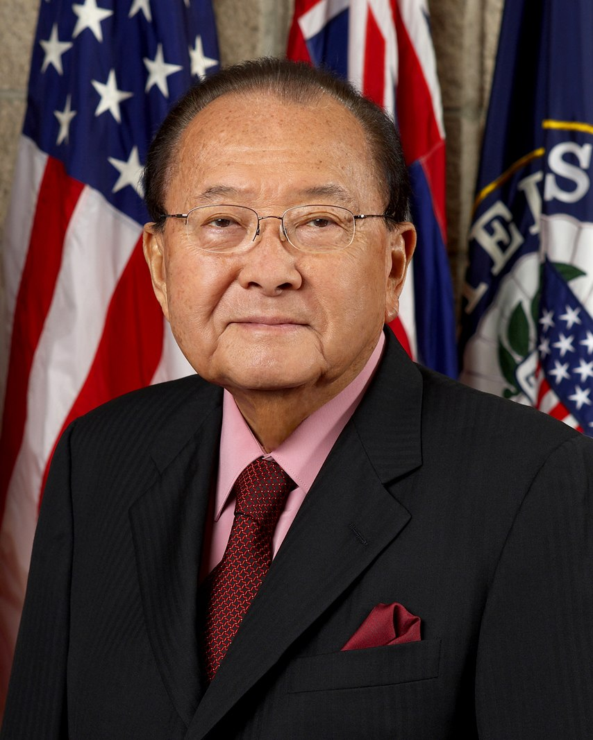 Daniel Inouye, official Senate photo portrait, 2008