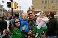 Daniel Oerther poses with Sarah Oerther at the annual Saint Patrick Parada in Rolla Missouri.jpg