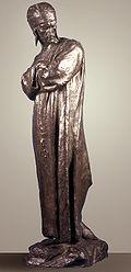 Almeida Reis: Dante ao voltar do ex�lio, 1889, MNBA. Almeida Reis perdeu sua bolsa de estudos pois seu estilo n�o se enquadrava nos c�nones oficiais