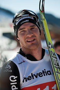 Dario Cologna, 2011 Swiss cross-country skiing championships - Duathlon.jpg