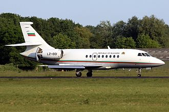 28th Air Detachment - Bulgarian Air Force Falcon 2000